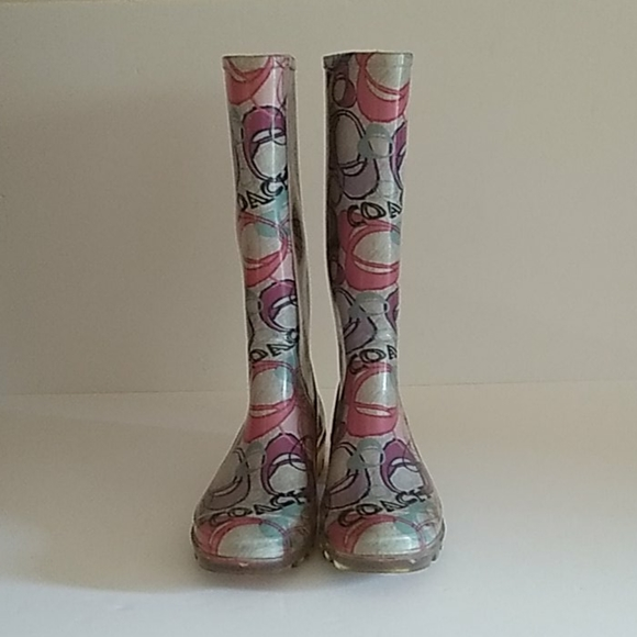 Coach Poppy Women's Rain Boots